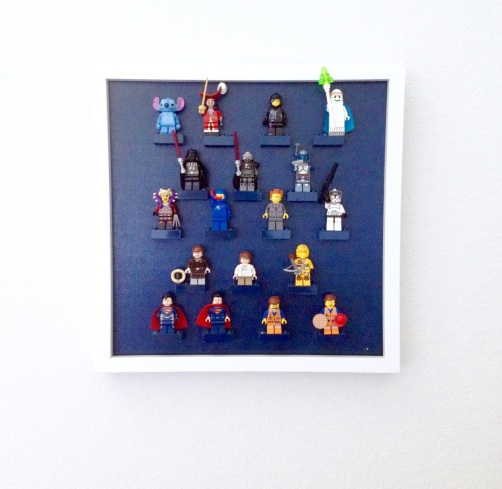 Lego character display